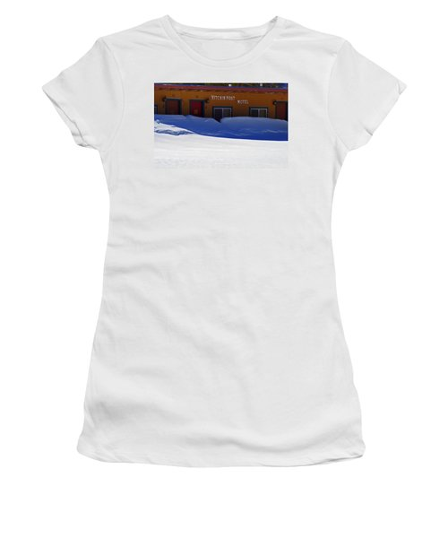 Hitchin' Post March Women's T-Shirt (Athletic Fit)