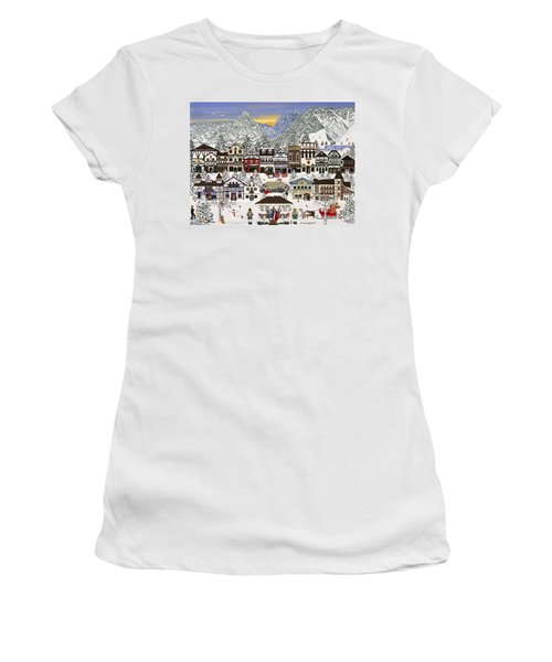 Holiday Village Women's T-Shirt