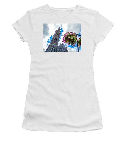 Holy Cross Church Steeple Charleville Ireland Women's T-Shirt