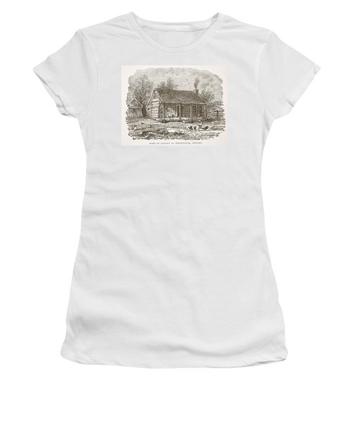 Home Of Lincoln At Gentryville Women's T-Shirt
