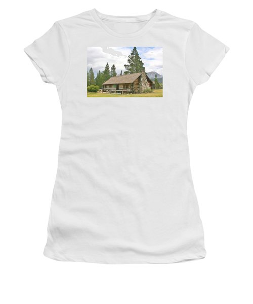 Women's T-Shirt (Junior Cut) featuring the photograph Homesteaded by Marilyn Diaz