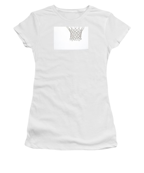 Hoops Women's T-Shirt (Athletic Fit)