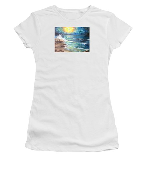 Horizons Women's T-Shirt (Junior Cut) by Cheryl Pettigrew