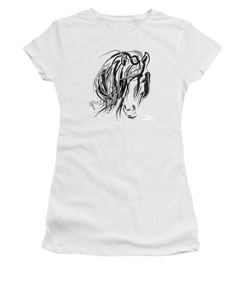 Horse- Hair And Horse Women's T-Shirt