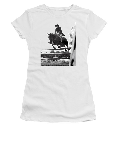 Horse Show Jump Women's T-Shirt