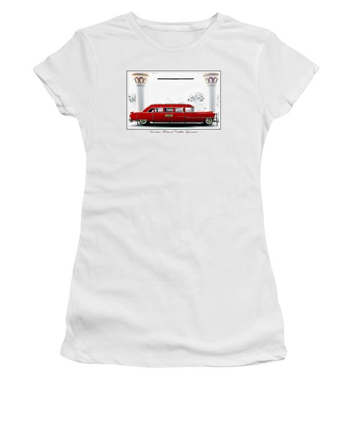 Horseshoe Fleetwood Cadillac Limousine Women's T-Shirt (Athletic Fit)