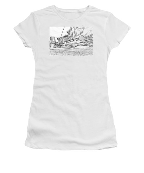 Hot Rod Exhausting Women's T-Shirt