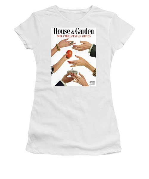 House And Garden 999 Christmas Gifts Cover Women's T-Shirt