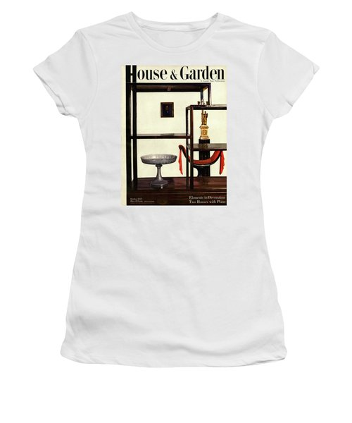 House And Garden Cover Featuring A Chinese Women's T-Shirt