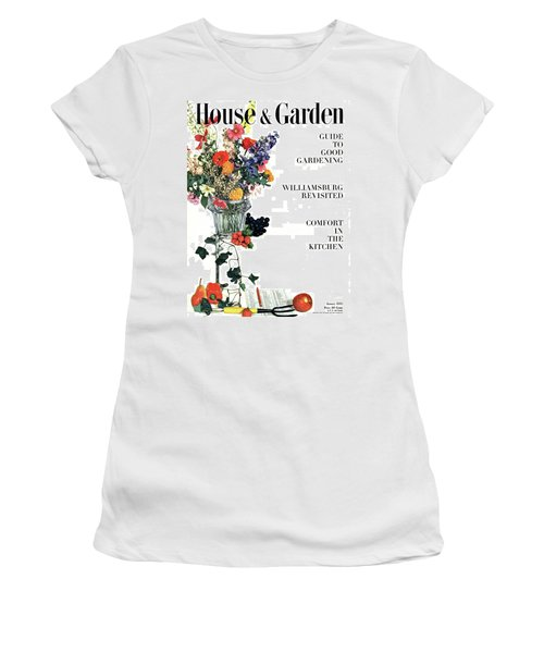 House And Garden Guide To Good Gardening Cover Women's T-Shirt