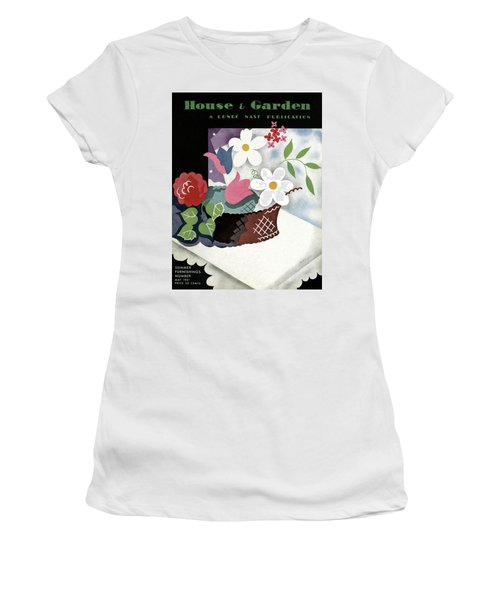 House And Garden Summer Furnishings Number Cover Women's T-Shirt