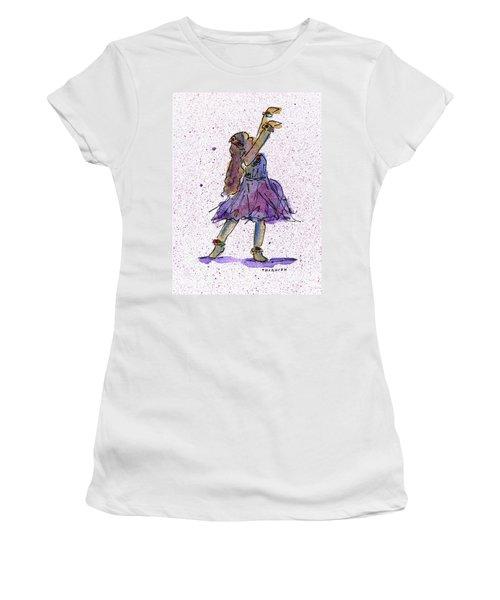 Hula Series Lokelani Women's T-Shirt