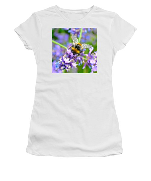 Hungry Bee Women's T-Shirt (Athletic Fit)