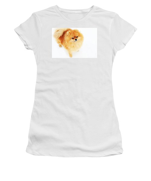 I Am Here I Women's T-Shirt (Junior Cut) by Jenny Rainbow