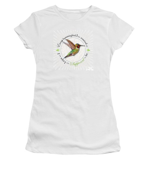 I Am Who I Am Supposed To Be Women's T-Shirt