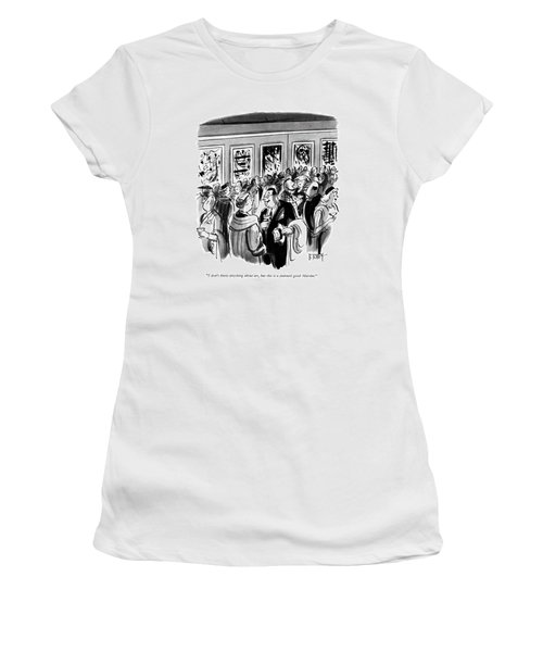 I Don't Know Anything About Art Women's T-Shirt