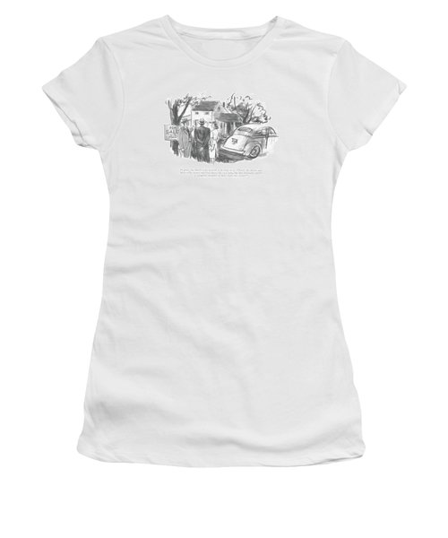 I Grant You There's A Lot Of Work To Be Done Women's T-Shirt