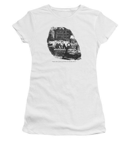 I Hope When I Grow Up I'll Have An Amicable Women's T-Shirt