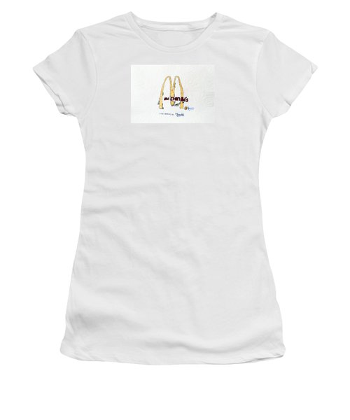 I Love America Women's T-Shirt (Athletic Fit)