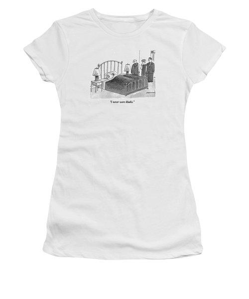 I Never Wore Khakis Women's T-Shirt