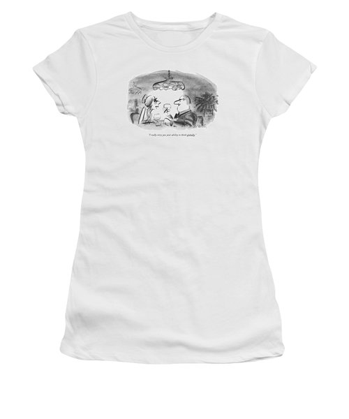 I Really Envy You Your Ability To Think Globally Women's T-Shirt