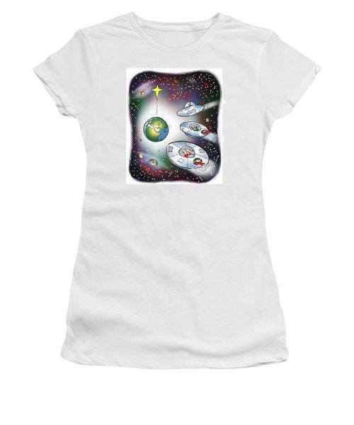 We Three Spacemen Women's T-Shirt