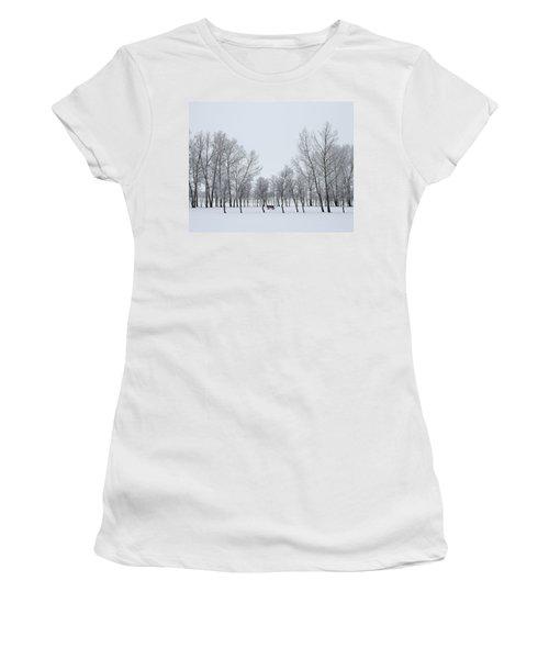 I Sit Alone Women's T-Shirt