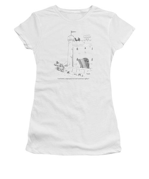 I Still Think A Simple Pedestrian Mall Women's T-Shirt