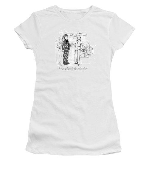 I Thought Sexy Ken Bone Would Be More Timeless Women's T-Shirt