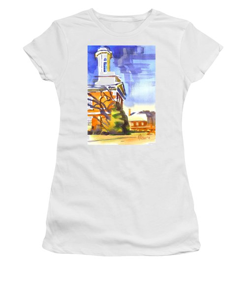 Icicles In The Sky Women's T-Shirt
