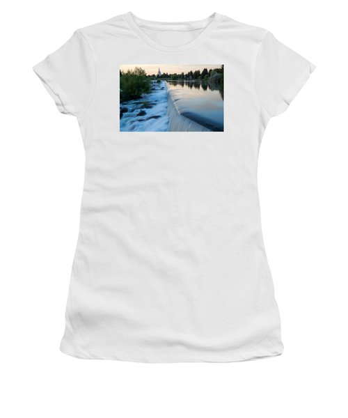 Idaho Falls Sunset Women's T-Shirt (Athletic Fit)