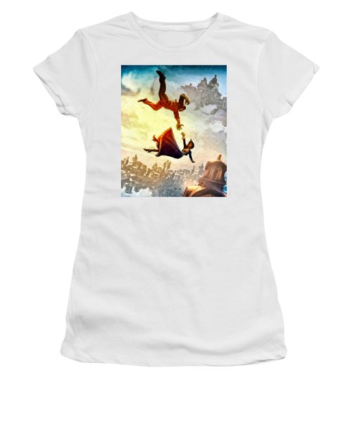 If You Fall Women's T-Shirt (Athletic Fit)