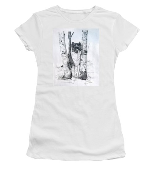 Ihasa In The Woods Women's T-Shirt (Athletic Fit)