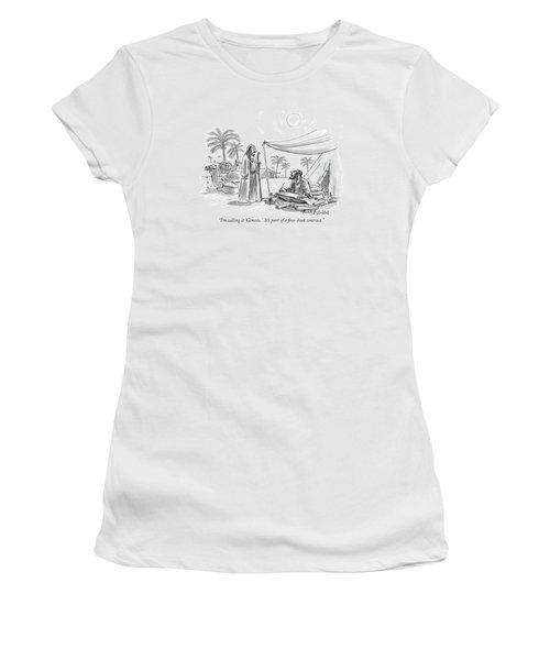 I'm Calling It 'genesis.'  It's Part Women's T-Shirt