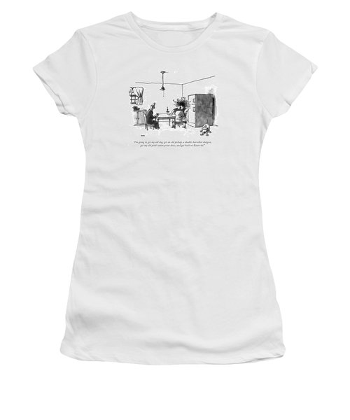 I'm Going To Get My Old Dog Women's T-Shirt