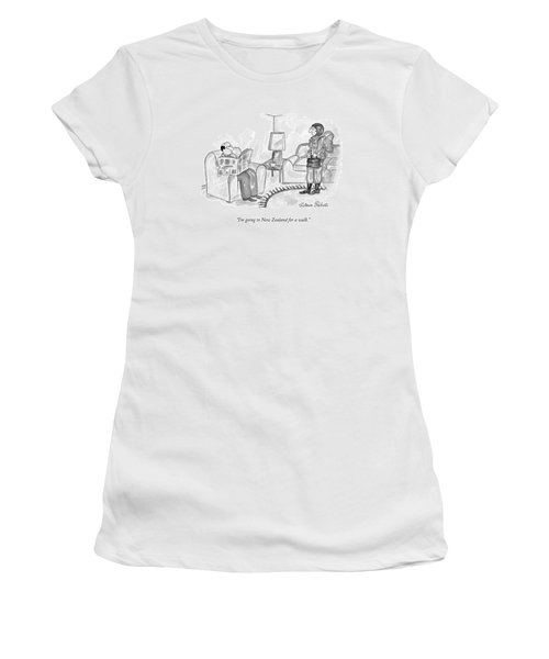 I'm Going To New Zealand For A Walk Women's T-Shirt