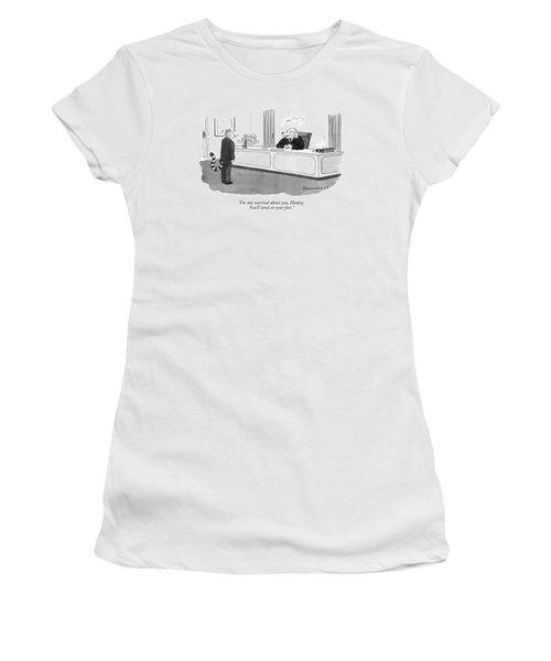I'm Not Worried Women's T-Shirt