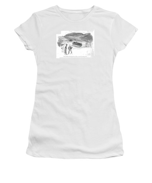 I'm Terribly Worried About Steve. His Car Came Women's T-Shirt