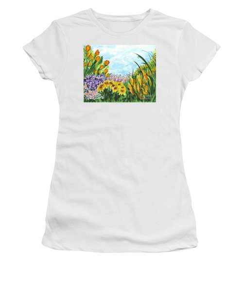 In My Garden Women's T-Shirt (Athletic Fit)