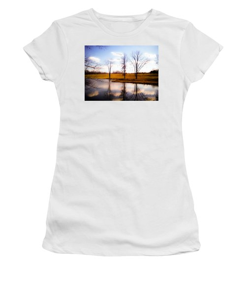 In The Mood Women's T-Shirt (Junior Cut) by Peggy Franz