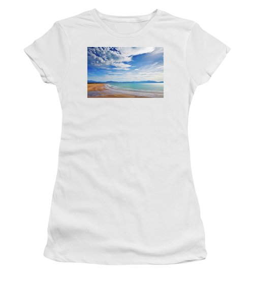 Inch Beach, Dingle Peninsula, County Women's T-Shirt