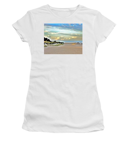 Indian River Inlet - Delaware State Parks Women's T-Shirt (Athletic Fit)