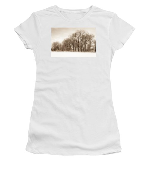 Indiana Winter At Freedom Park - Horizontal Women's T-Shirt