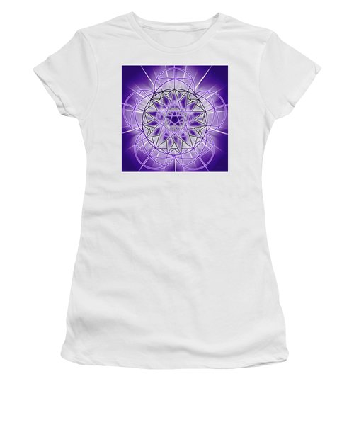 In'phi'nity Star-map Women's T-Shirt (Athletic Fit)