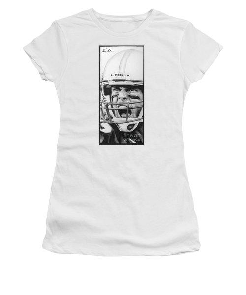 Intensity Tom Brady Women's T-Shirt (Athletic Fit)