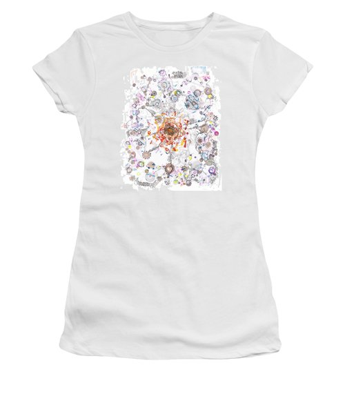Intracellular Diversion Women's T-Shirt