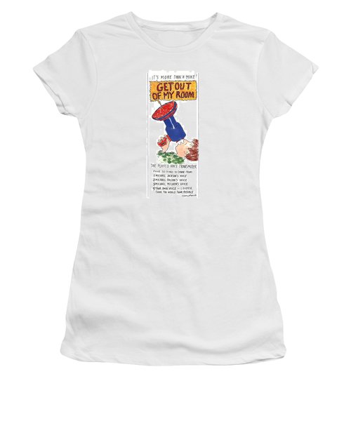 It's More Than A Mike! Women's T-Shirt (Junior Cut) by Michael Crawford