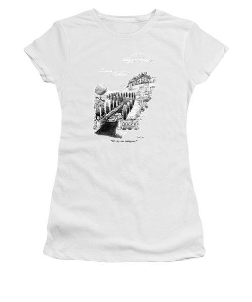 It's My One Indulgence Women's T-Shirt