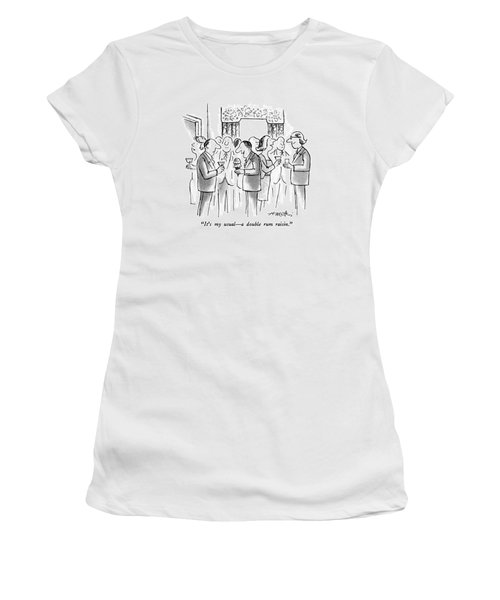 It's My Usual - A Double Rum Raisin Women's T-Shirt