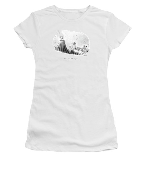 It's Our Time Of Thanksgiving Women's T-Shirt